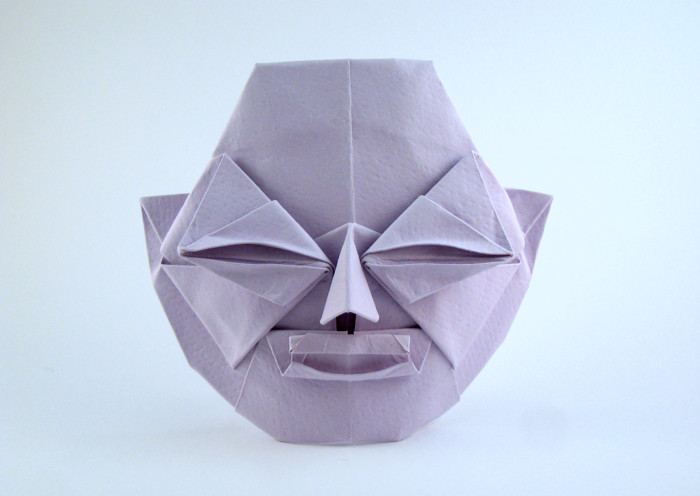 Origami Taikoji By Tomoko Fuse Folded From A Square Of Art Paper Gilad Aharoni On