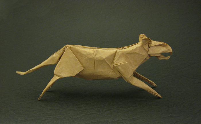 Origami Tiger By Peter Engel Folded Gilad Aharoni On Giladorigami