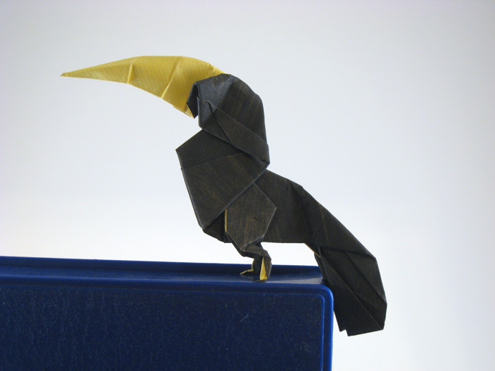 Origami Toucan by Miguel A. Callisaya folded by Gilad Aharoni