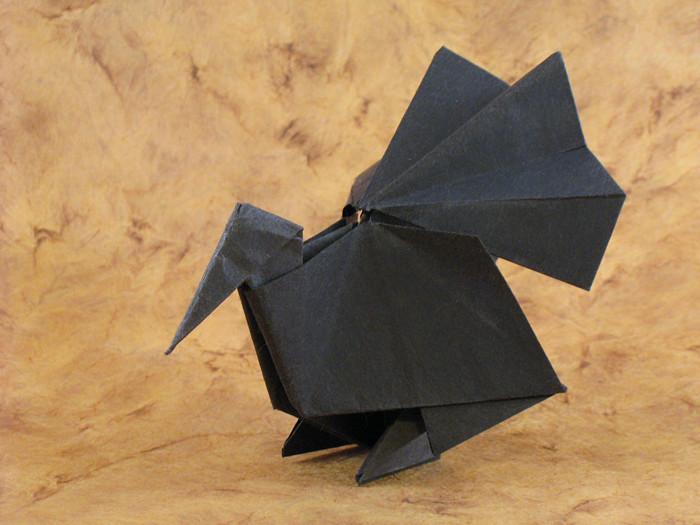 Origami Turkeys | Gilad's Origami Page