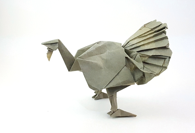 Origami Turkeys Gilads Origami Page