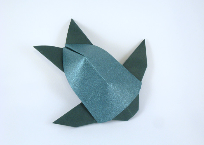 Origami Sea turtle by Arun Soor folded by Gilad Aharoni