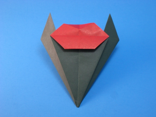 Origami Two lips by Michael G. LaFosse folded by Gilad Aharoni