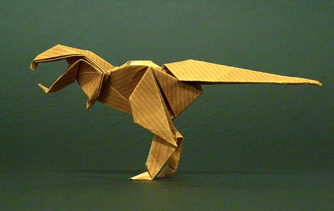 18 Mind Blowing Origami Dinosaur Skeletons Me