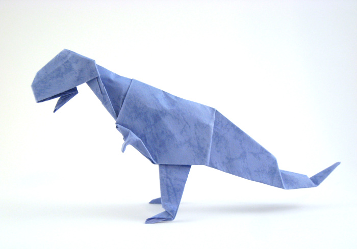Pleasing Origami Tyrannosaurus Rex Page 1 Of 2 Gilads Origami Page Wiring Digital Resources Remcakbiperorg