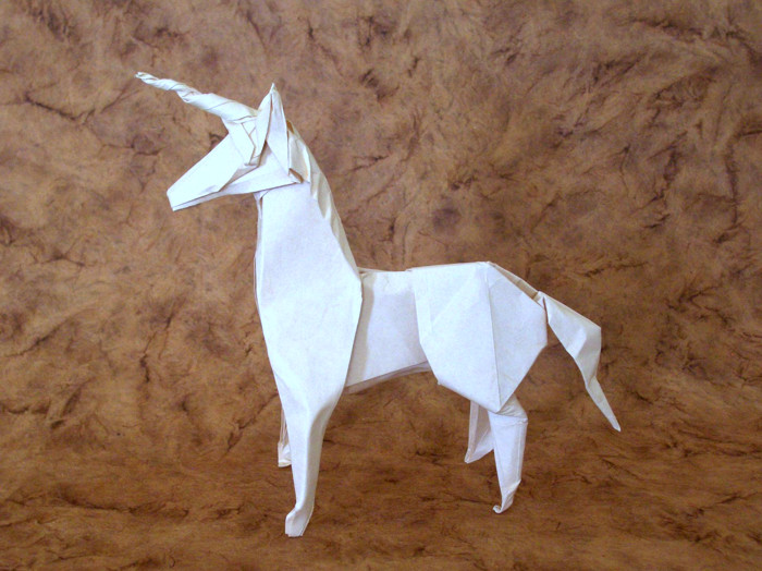 Origami Unicorns Page 1 Of 2 Gilads Origami Page