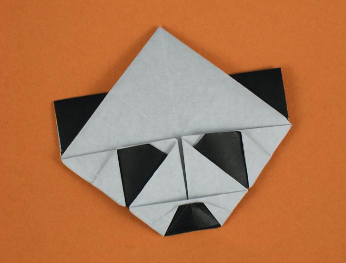 Origami Panda Bookmark By Roman Diaz Folded Gilad Aharoni