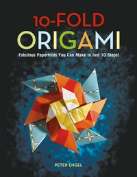 Cover of 10-Fold Origami by Peter Engel