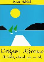Cover of Origami Alfresco by David Mitchell
