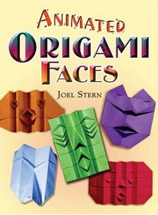 Cover of Animated Origami Faces by Joel Stern