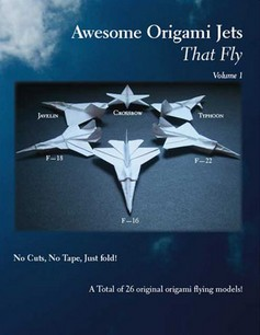 Cover of Awesome Origami Jets That Fly by Tem Boun