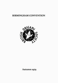 Cover of BOS Convention 1979 Autumn