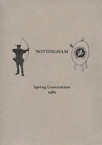 Cover of BOS Convention 1980 Spring