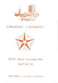 Cover of BOS Convention 1982 Spring