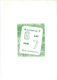 Cover of BOS Convention 1984 Autumn