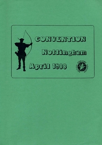 Cover of BOS Convention 1988 Spring