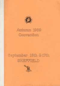Cover of BOS Convention 1989 Autumn