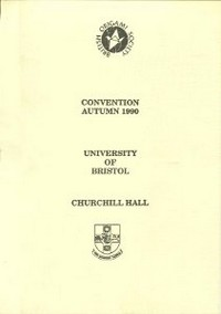 Cover of BOS Convention 1990 Autumn