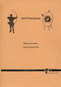 Cover of BOS Convention 1990 Spring