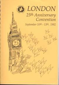 Cover of BOS Convention 1992 Autumn