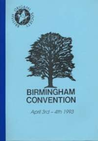 Cover of BOS Convention 1993 Spring
