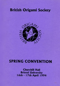 Cover of BOS Convention 1994 Spring
