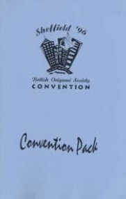 Cover of BOS Convention 1996 Autumn