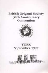 Cover of BOS Convention 1997 Autumn