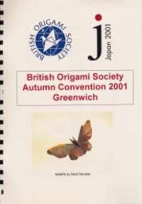 Cover of BOS Convention 2001 Autumn