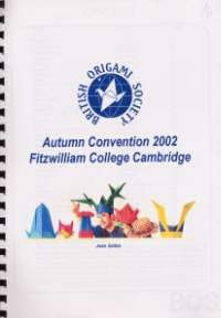 Cover of BOS Convention 2002 Autumn