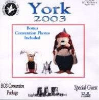 Cover of BOS Convention 2003 Autumn