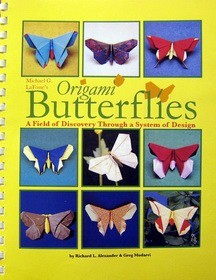 Cover Of Origami Butterflies By Richard L Alexander And Greg Mudarri
