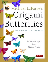 Cover of Michael LaFosse's Origami Butterflies by Michael G. LaFosse and Richard L. Alexander