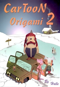 Cover of Cartoon Origami 2 by Carlos Gonzalez Santamaria (Halle)