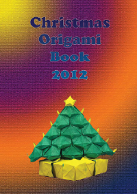 Cover of Christmas Origami Book 2012