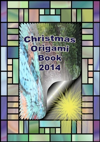 Cover of Christmas Origami Book 2014