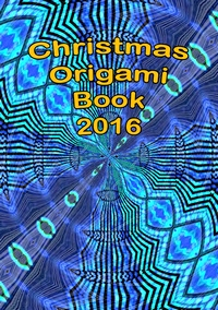 Cover of Christmas Origami Book 2016