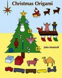 Cover of Christmas Origami by John Montroll