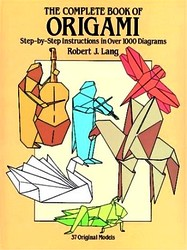 Cover of The Complete Book of Origami by Robert J. Lang