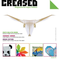 Cover of Creased Magazine 1