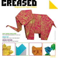 Cover of Creased Magazine 2