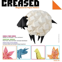 Cover of Creased Magazine 4