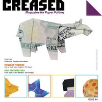 Cover of Creased Magazine 6