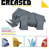 Cover of Creased Magazine 8