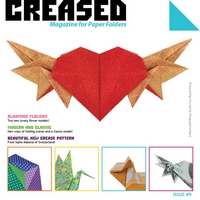 Cover of Creased Magazine 9