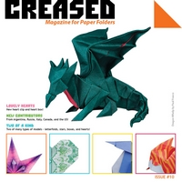 Cover of Creased Magazine 10