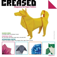Cover of Creased Magazine 11