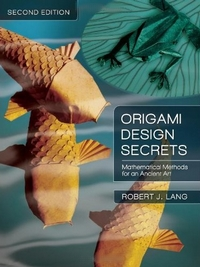 Cover of Origami Design Secrets - 2nd edition by Robert J. Lang