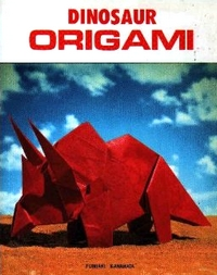 Cover of Dinosaur Origami by Fumiaki Kawahata