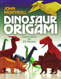 Dinosaur Origami book cover